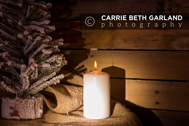 Candle on Burlap_NO TEXT_Watermarked